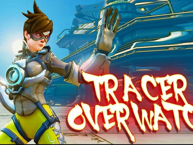 Street Fighter Mod Lets You Play As Tracer From Overwatch