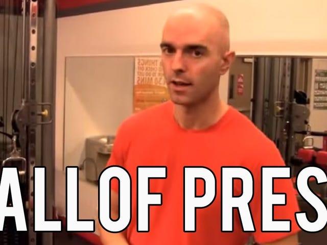 Το Pallof Press λειτουργεί τον πυρήνα σας όταν είστε άρρωστοι από κρότες και σανίδες