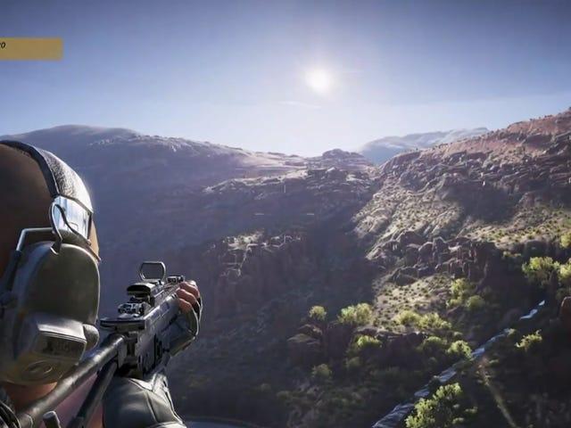 <i>Ghost Recon Wildlands</i> E3デモはメガオープンワールドを行く