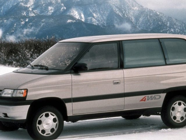 Mazda Was So Small In The 1980s That It Put Off The Miata To Make A Minivan