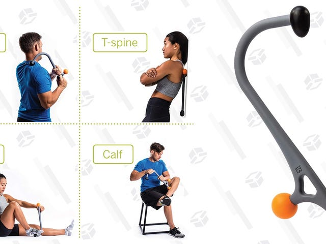 Sore From All of the Sudden New Year's Exercise? TriggerPoint's Massage Cane Is Just $10.