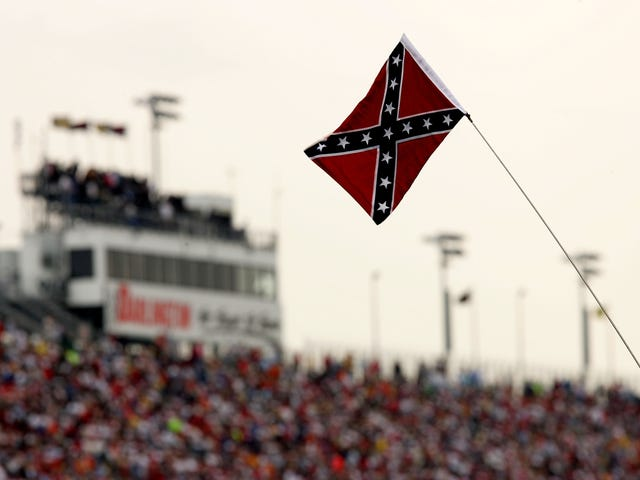 If You Ever Wanted to See White-on-White Crime, Check Out These Reactions to NASCAR's Confederate Flag Ban