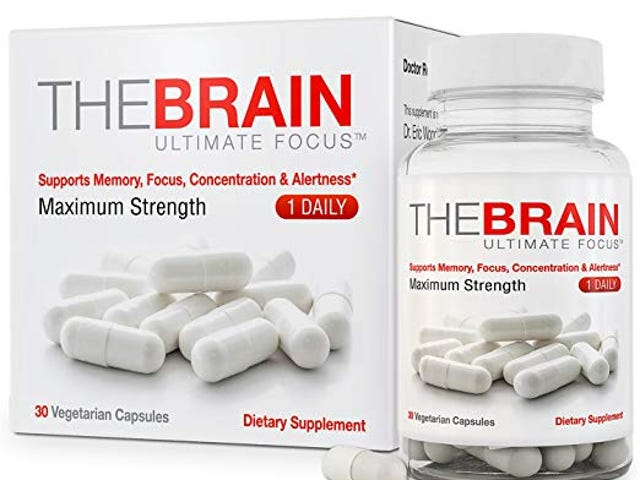 The Brain Ultimate Focus Maximum Strength Brain Supplement (1 month Supply) (30 Capsules) $6.95