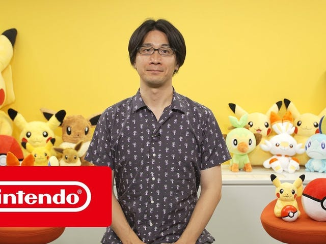 In this video released for Gamescom, Japanese Keanu and Pokémon Sword and Shield game director Shige