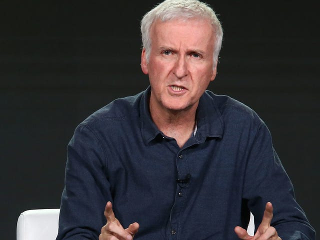 James Cameron slams Aquaman, a movie where sharks shoot frickin' lasers, for its lack of realism