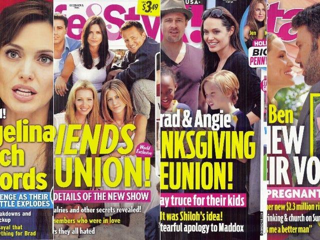 สัปดาห์นี้ในแท็บลอยด์: ไม่มีอะไรเกิดขึ้นดังนั้นเรามาพิจารณาเกี่ยวกับการรวมตัวของ <i>Friends</i> !