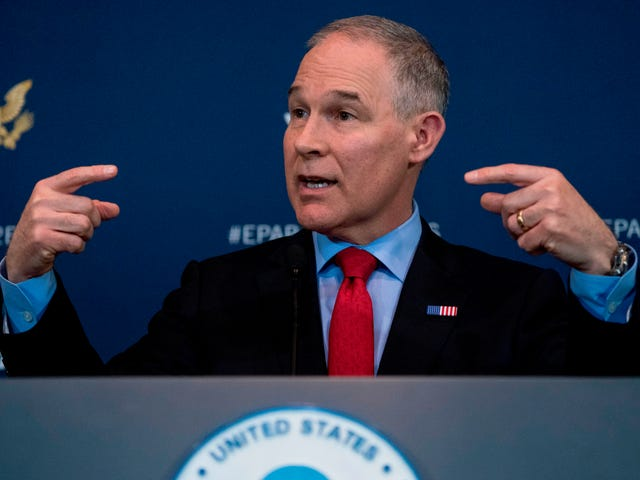 We're Good With Scott Pruitt Murdering Life on Earth Though, Right?