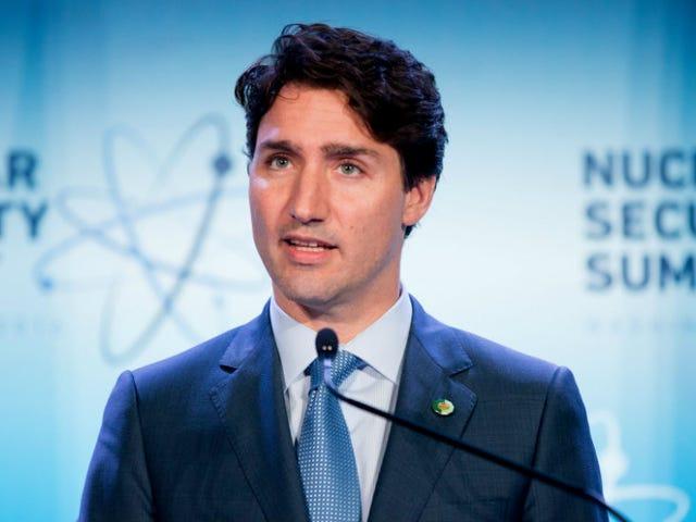 Justin Trudeau è solo un grande, eccitato?