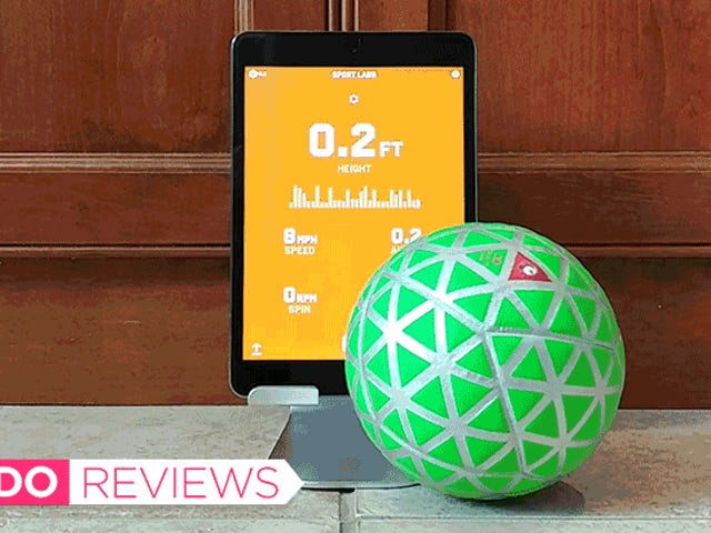 My Ultra-Competitive Side Loves This Sensor-Packed Smart Ball