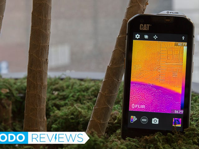 The First Thermal Imaging Phone Made Me Feel Like Predator