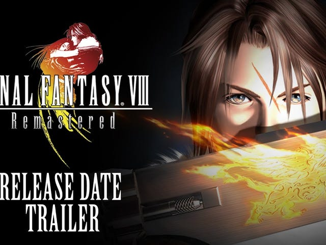 Final Fantasy VIII's remastered version now has a concrete release date