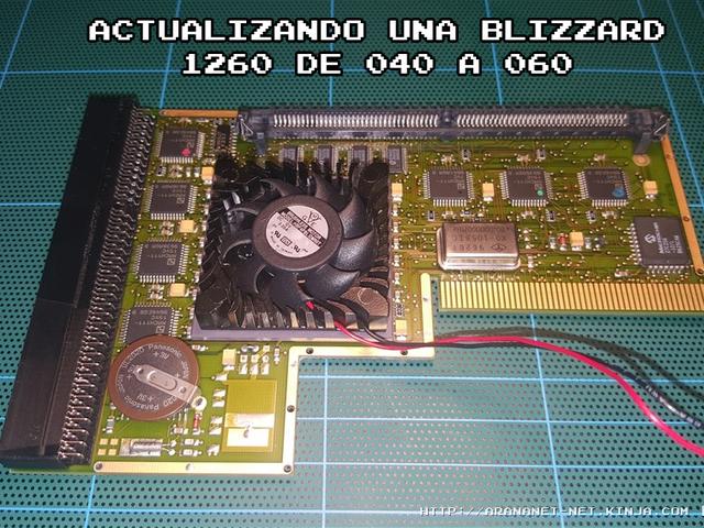 ACTUALIZANDO UNA BLIZZARD 1260 DE 040 A 060