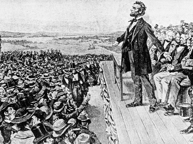 Ο βουλευτής του GOP καλεί τον Abe Lincoln την «ίδια σειρά τυράννων» ως Χίτλερ, σκέφτεται ότι ο εμφύλιος πόλεμος «δεν ήταν απαραίτητος»
