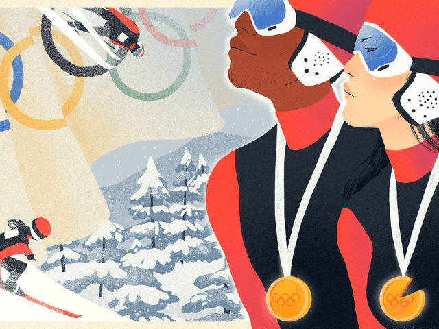 """Why Some Winter Olympic Sports Are """"Faster, Higher, Stronger"""" For Men Only"""