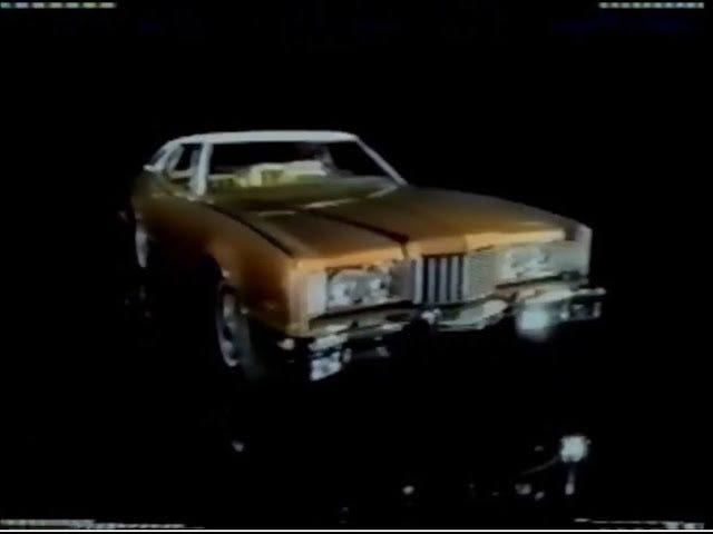 70 के दशक के ऑटोमोबाइल विज्ञापन