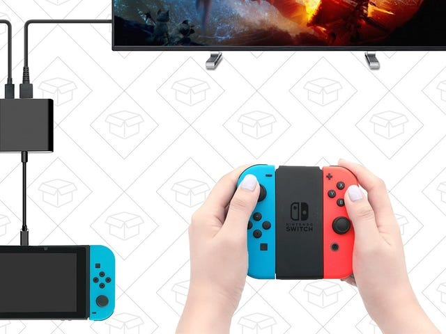 This Tiny Dongle Is Basically a Travel-Friendly Nintendo Switch Dock