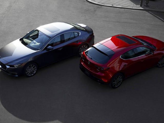Mazda Canada released pricing on the 2019 Mazda3