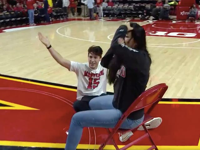 The Sports Highlight Of The Day Is This Maryland Fan's Refusal To Lose At Musical Chairs