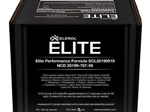 50% OFF Excelerol Elite Brain Health Supplement 60 Capsules $19.99