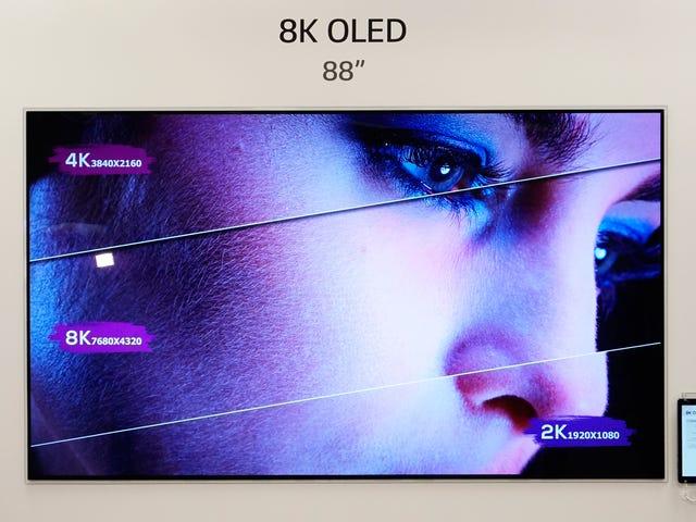 Scoprire i TV dei prototipi di LG era come mandare i miei occhi a Disney World