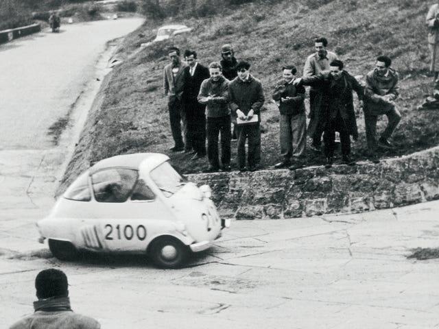 Iso Isetta này đua trong Mille Miglia năm 1954