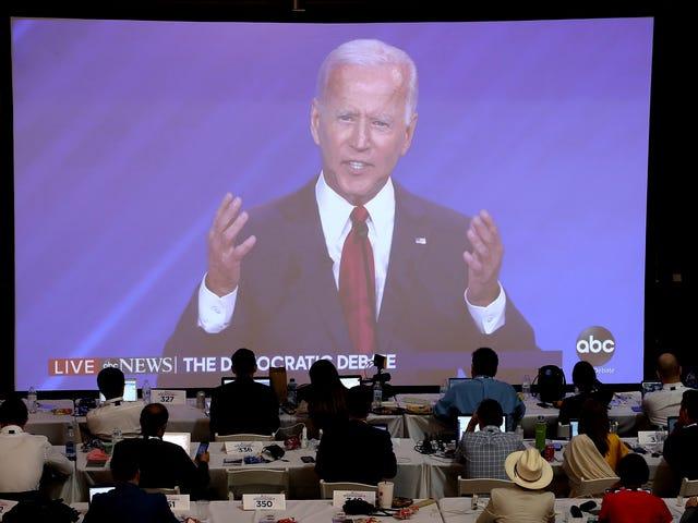 Joe Biden ser ud til at være den sidste person til at indse, at Joe Biden aldrig bliver præsident