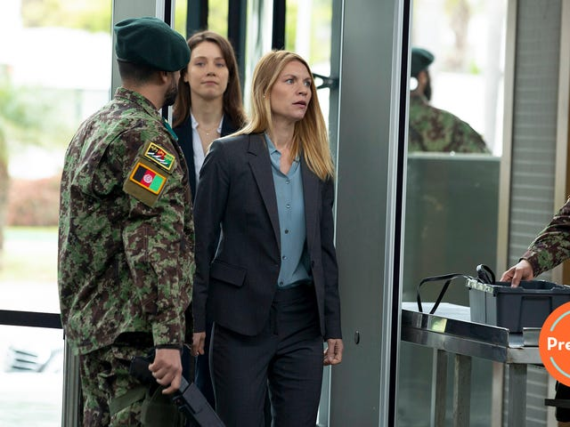 Homeland's final season premiere wastes no time putting Carrie back in danger