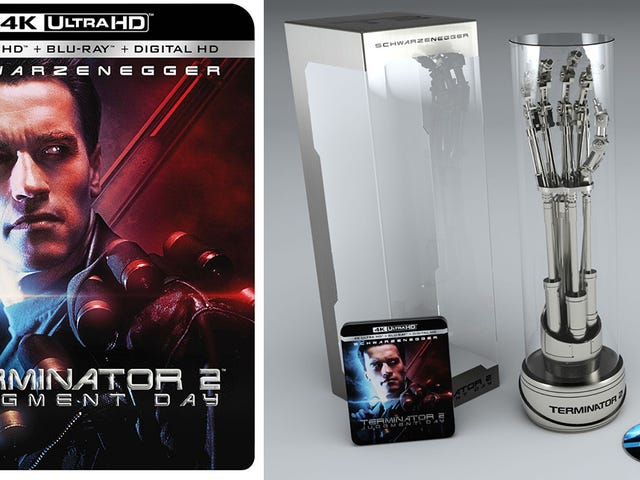 It's Worth Buying T2 Again For This Fantastic Terminator Arm Replica