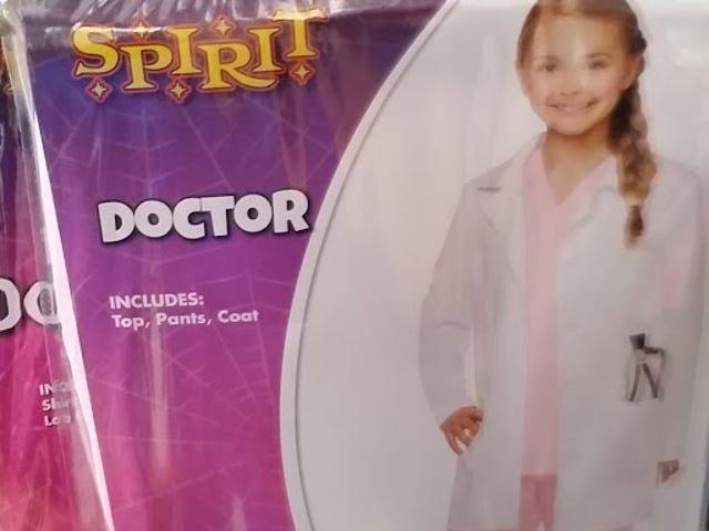 Halloween kostymer for jenter ... bare denne gangen er det bra!