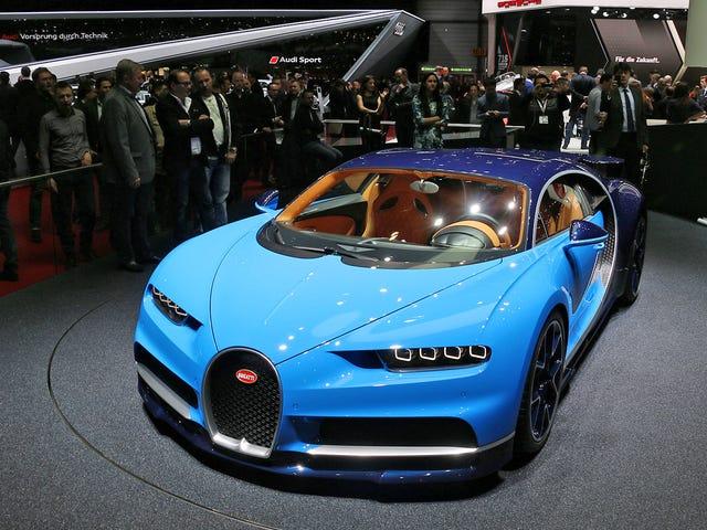 Το Bugatti Chiron είναι ένα γιγάντιο μέσον δάκτυλο για όλους