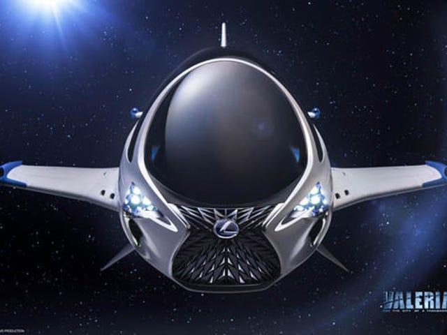 Lexus arbeitet möglicherweise in einem Flugzeug