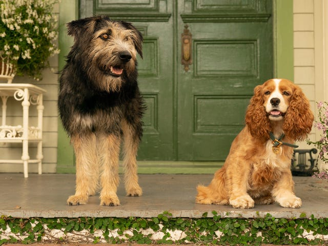 The new Lady And The Tramp feels like a '90s update of a '50s classic
