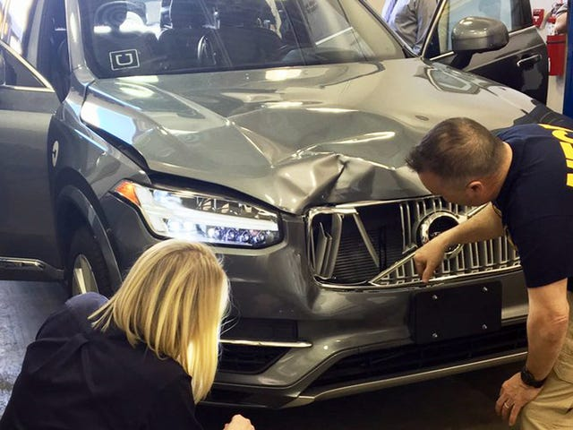 Arizona's Governor Ends Uber's Self-Driving Car Tests Indefinitely