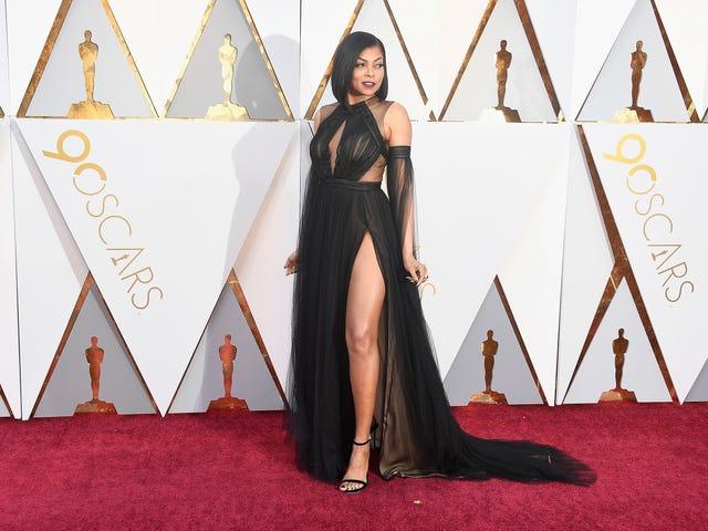 She Got That Glow: Taraji P. Henson Slays on the Oscars Red Carpet...Again