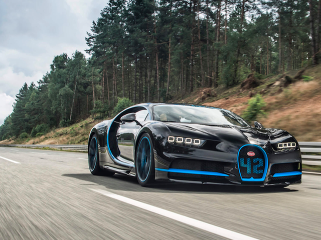 The Chiron Is So Fast Bugatti Had To Use Another Chiron To Film Its Record 249 MPH Run