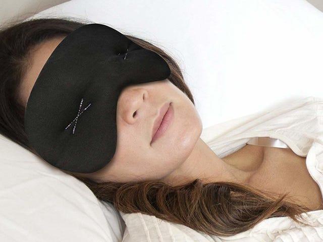Questa maschera da $ 9 per il sonno può rinfrescare il viso e aiutare con i mal di testa