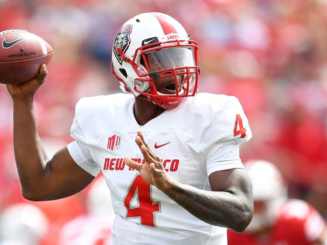 New Mexico Quarterback Suspended Indefinitely After Indecent Exposure Charge