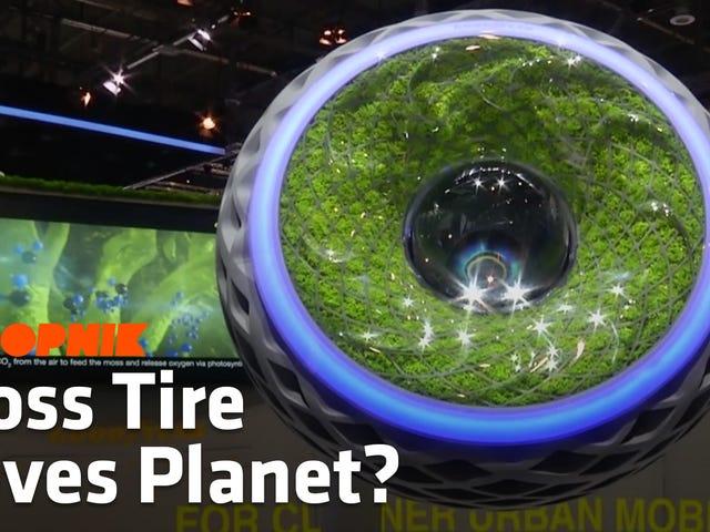 Dies ist Ihre Moss-Filled Dystopian Reifen der Zukunft