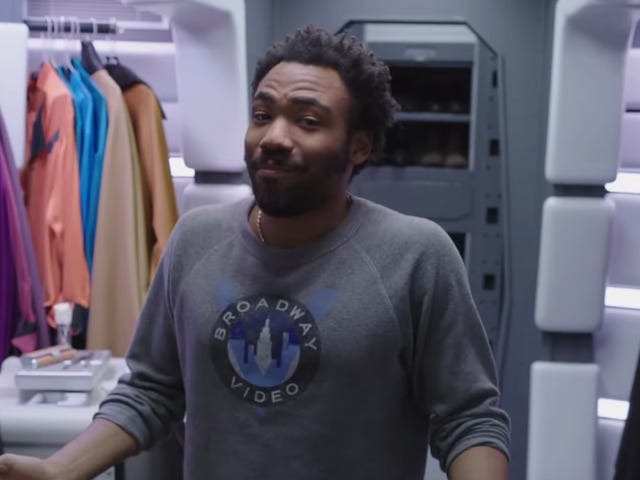 This Video of Donald Glover Touring the Millennium Falcon Proves Lucasfilm Knows What We Want