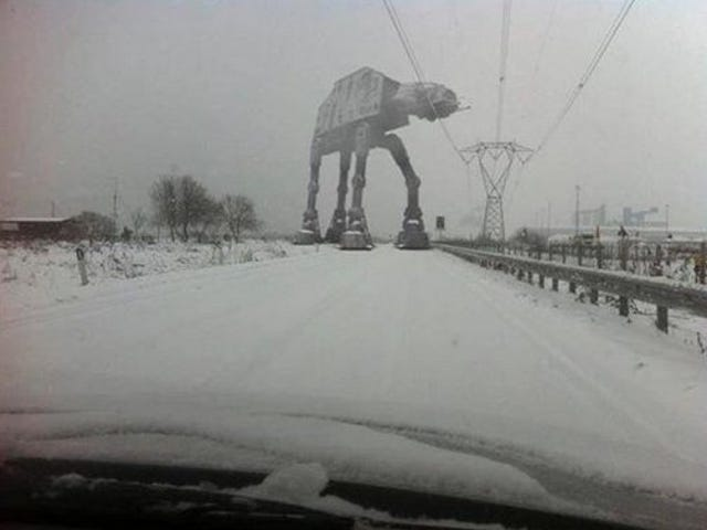 Coming to you live from Hoth! It's your snowy open thread!