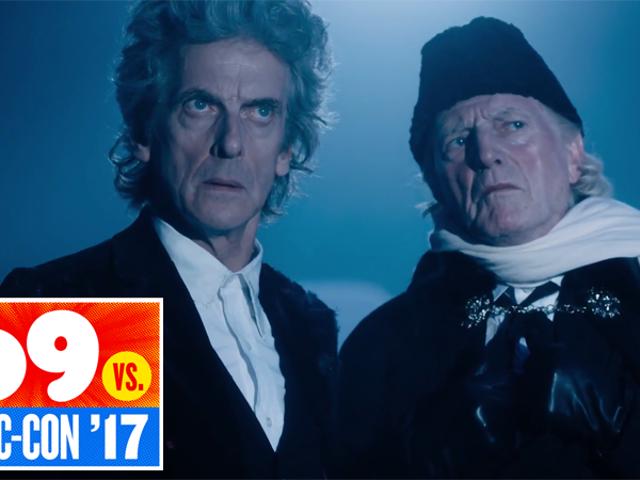 Qualcosa è andato storto nel tempo nel primissimo filmato dal Doctor Who 's Christmas Special