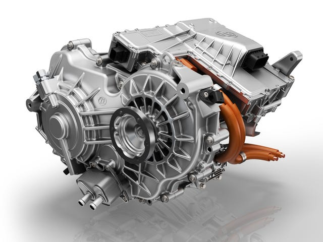 Here's ZF's New Two-Speed Transmission for Electric Cars