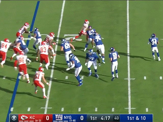Giants Find Yet Another Way To Fail