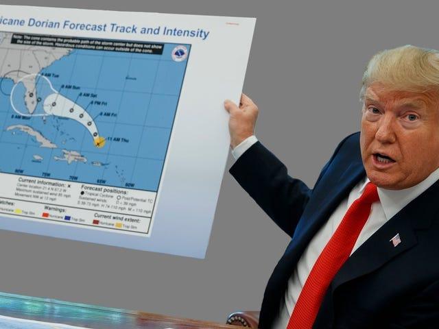 La NOAA a dit à ses scientifiques de se taire à propos des fausses prévisions de Trump: rapport
