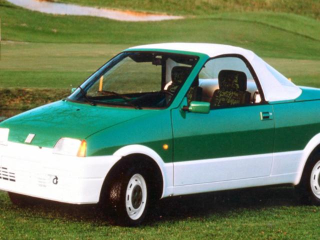 Fiat Cinquecento Cita (Stola) c1992 - green
