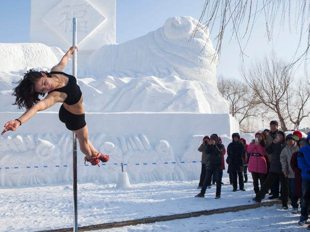 Pole Dancing Is Getting Closer to Being an Olympic Sport