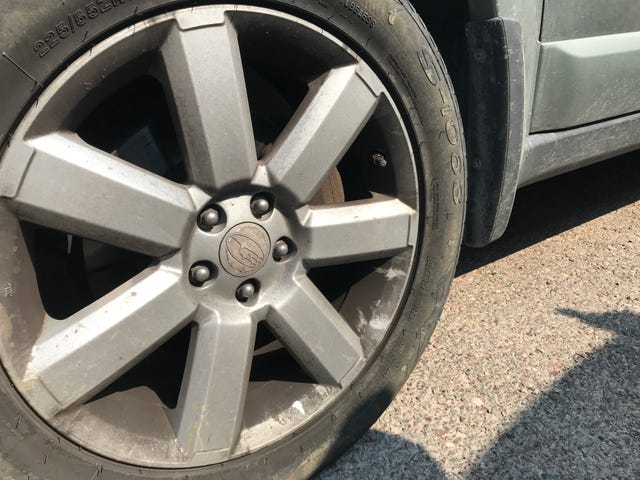 Does this brake dust look excessive