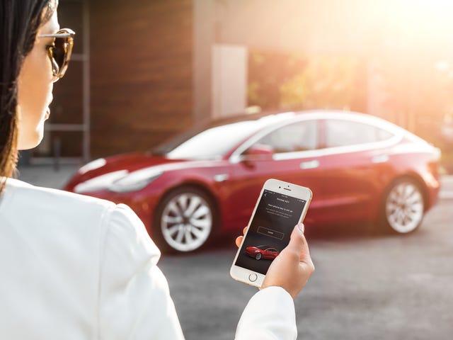 Sự sụp đổ trong các máy chủ của Tesla có nghĩa là một số người dùng không thể mở xe của họ