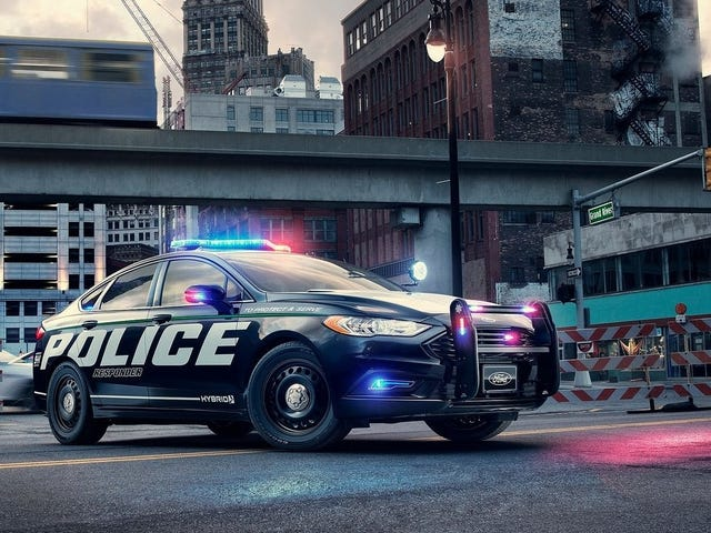 Ford Wants Silent Electric Police Cars