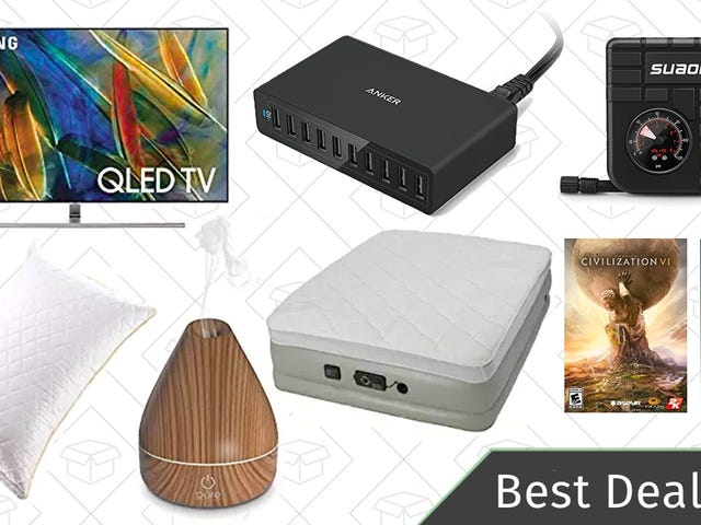 As melhores ofertas de sexta-feira: dinheiro de volta em TVs OLED selecionadas, atalhos Pro, difusores de aromaterapia e muito mais